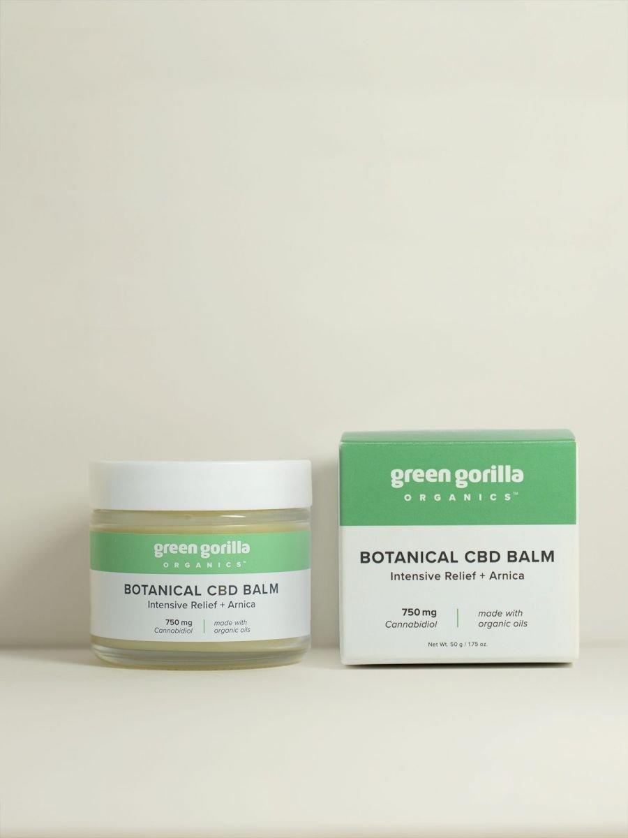 Green Gorilla Certified Organic Botanical CBD Balm