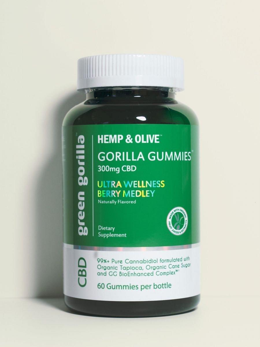 Green Gorilla Organic CBD Gorilla Gummies