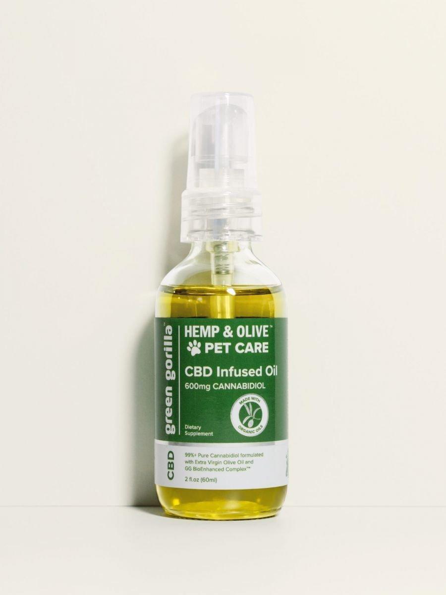 Green Gorilla Organic Pure CBD Oil for Dogs & Pets