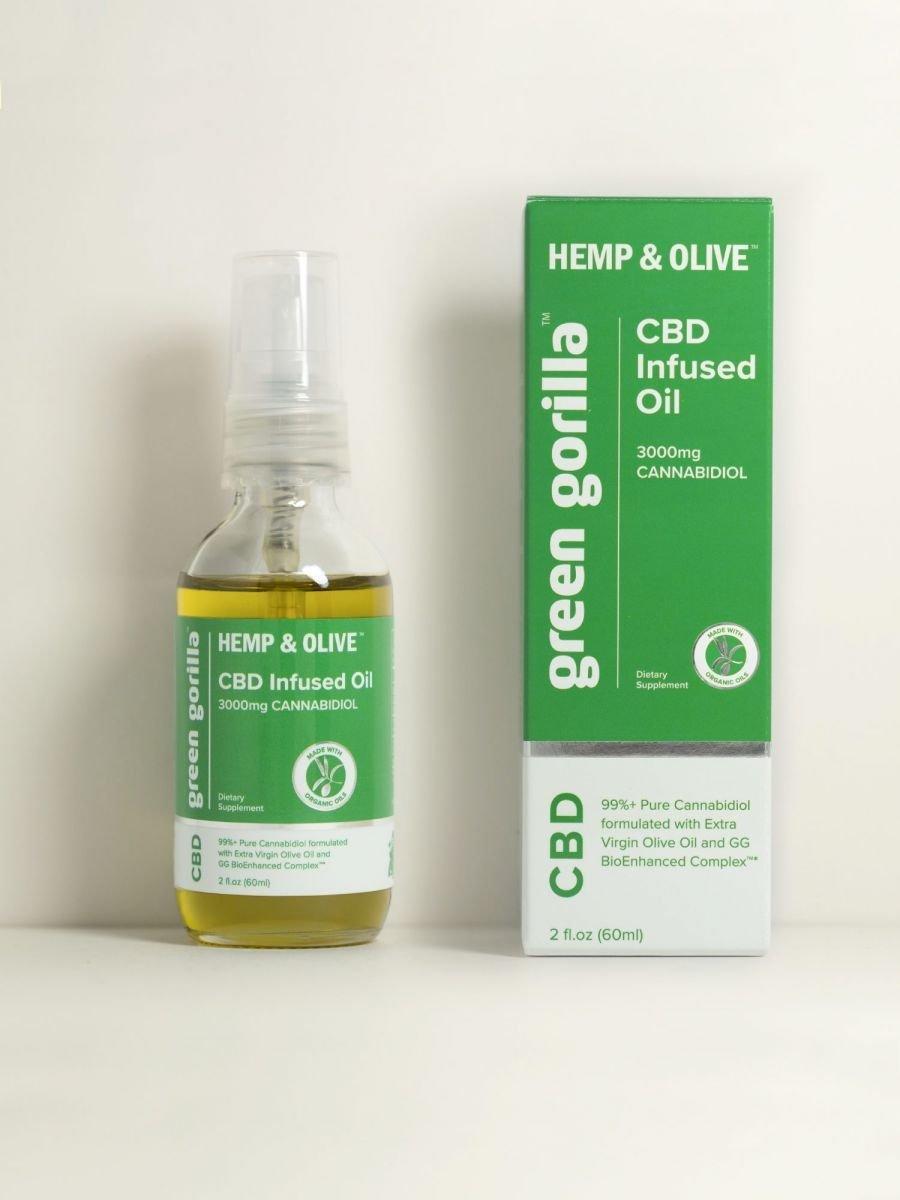 Green Gorilla USDA Certified Organic Pure CBD Oil