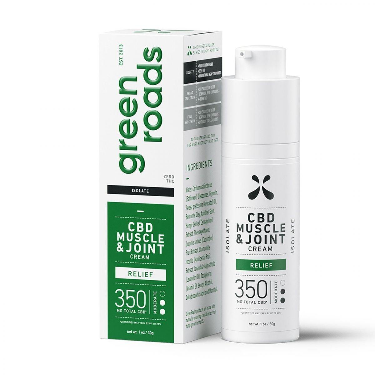 Green Roads CBD Muscle & Joint Cream