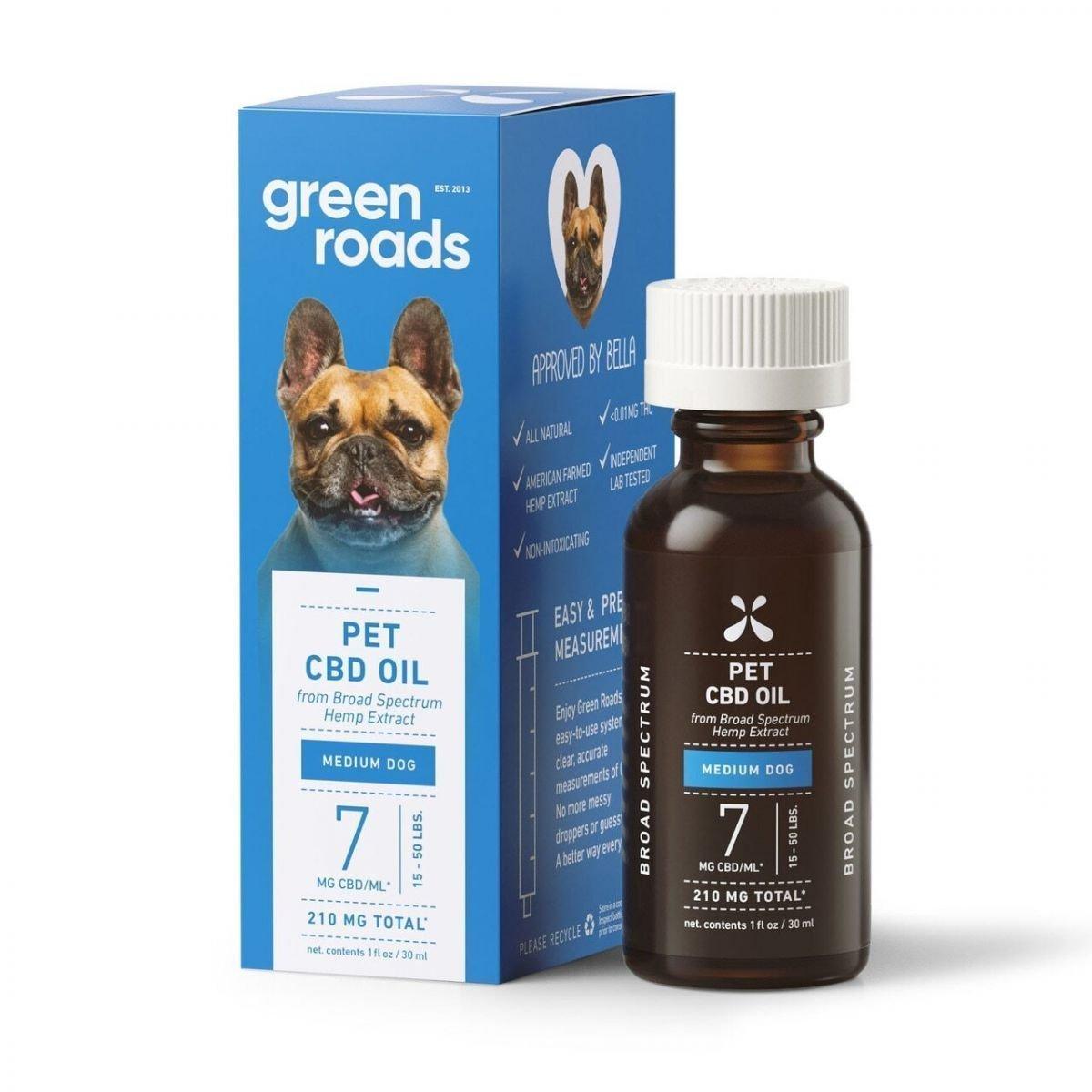 Green Roads CBD Oil for Medium Dogs