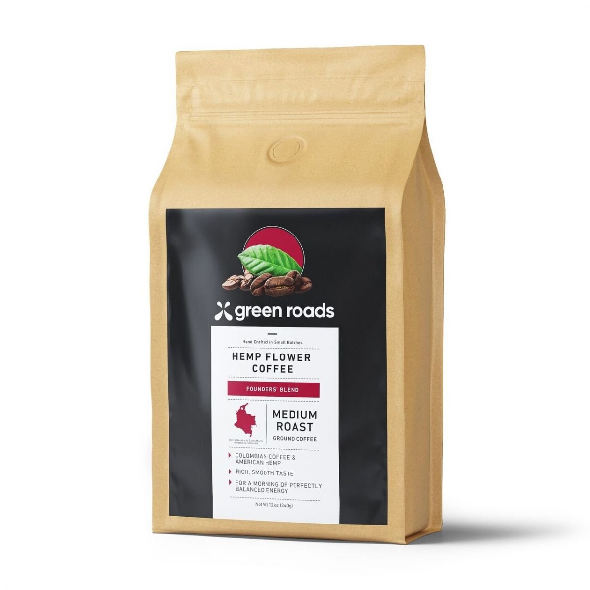 Green Roads Hemp Flower Coffee Founders Blend