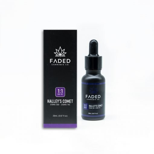 Green Society Faded Cannabis Co. Halley's Comet Tinctures CBD