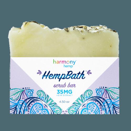 Harmony Hemp Hempbath Lavender Oats Soap