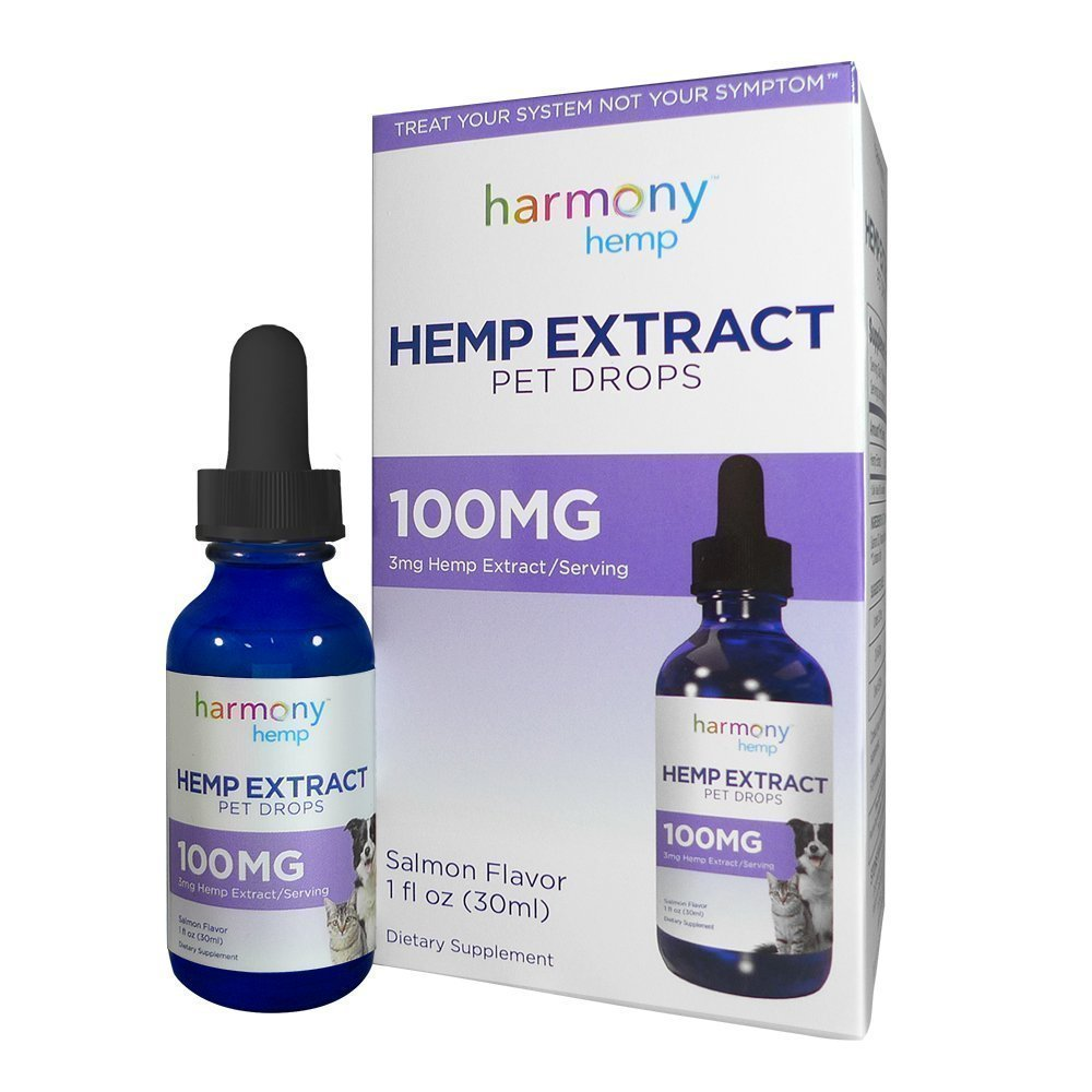 Harmony Hemp Pet Drops with Hemp Extract