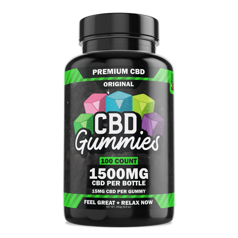 Hemp Bombs CBD Gummies 100 count