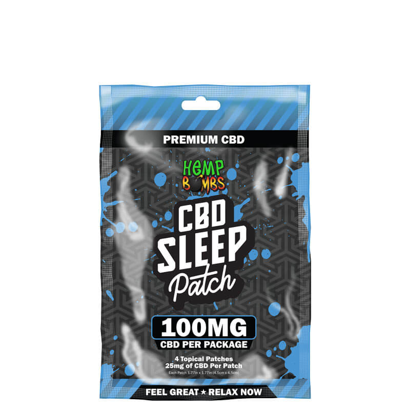 Hemp Bombs Sleep CBD Patches