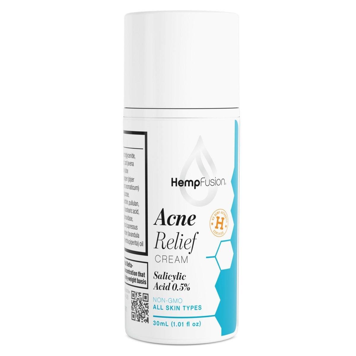 HempFusion CBD Acne Relief Cream