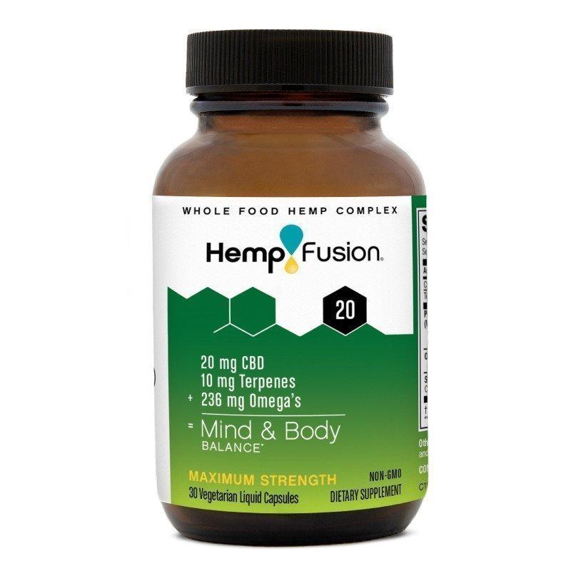 HempFusion CBD Capsules for Mind & Body