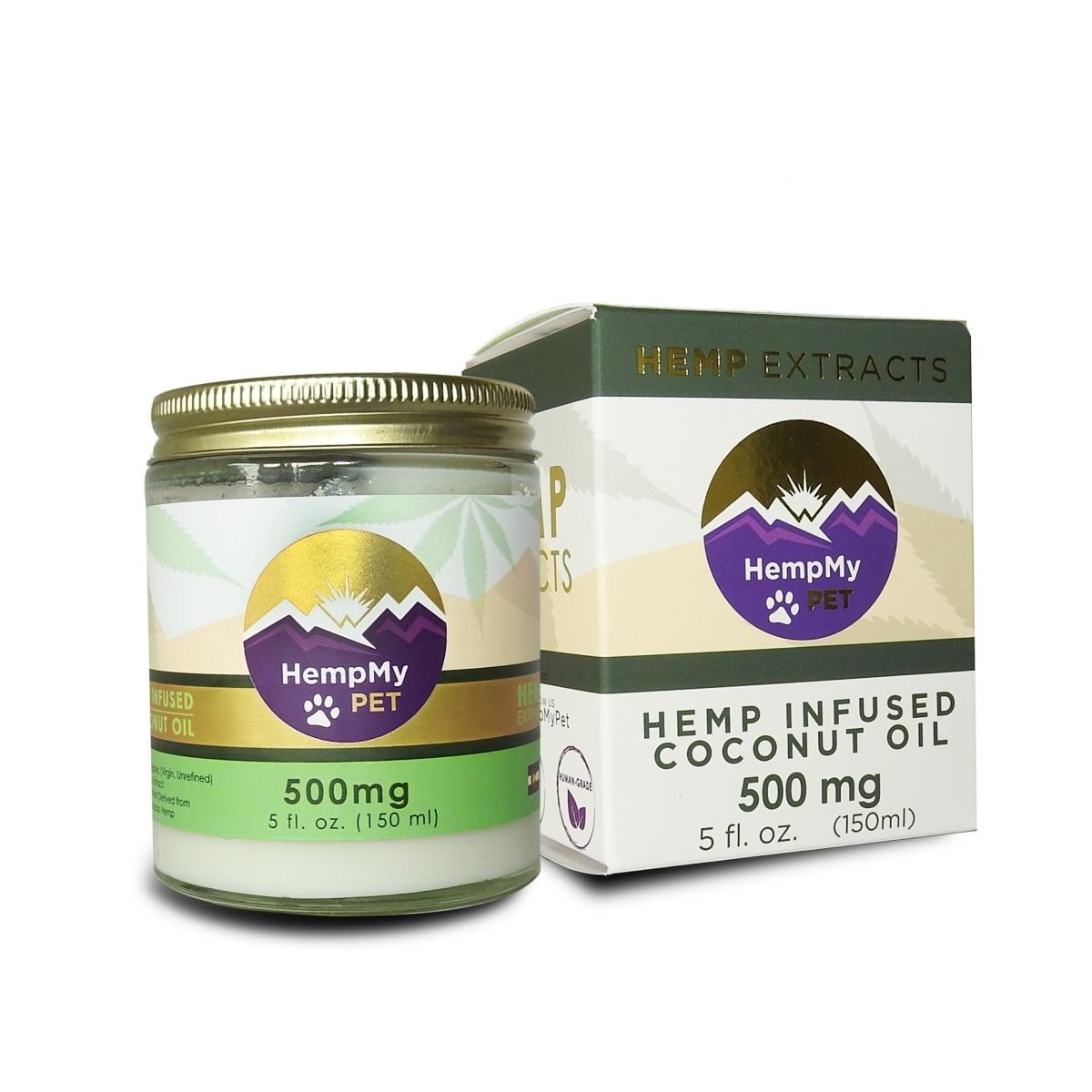 HempMy Pet CBD Coconut Oil 500mg