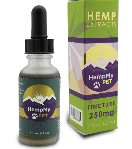 HempMy Pet CBD hemp seed oil