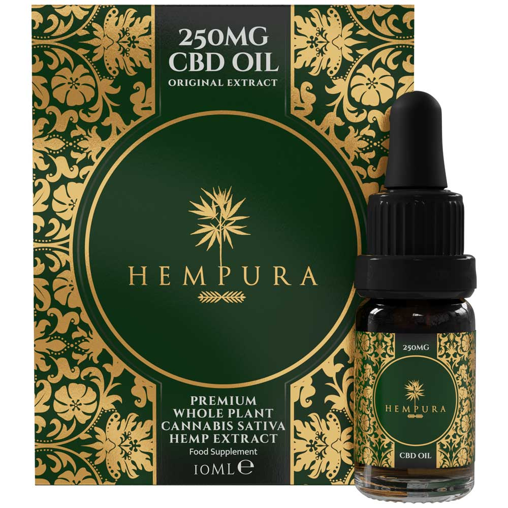 Hempura Full-spectrum CBD Oil Original