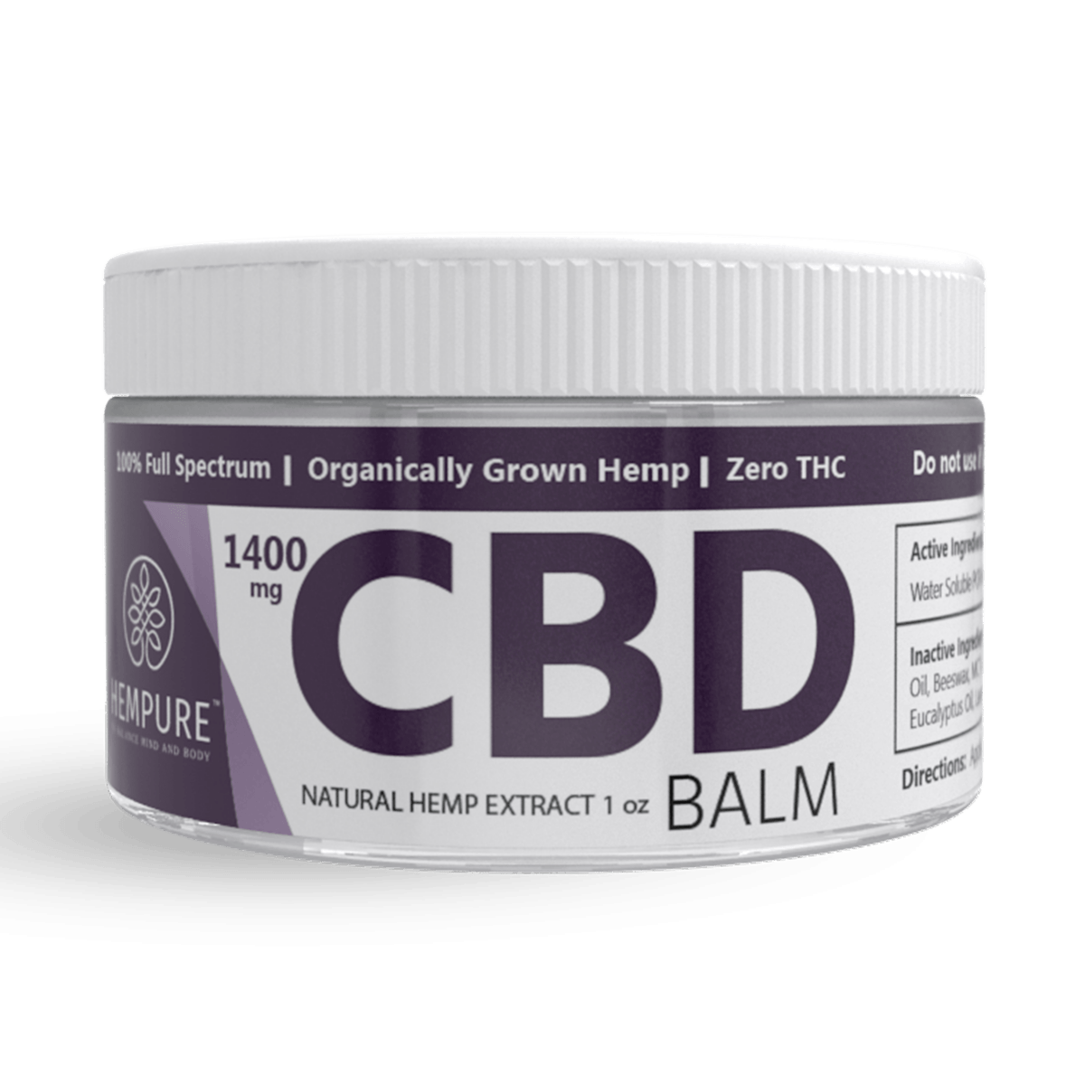 Hempure CBD Balm coupon
