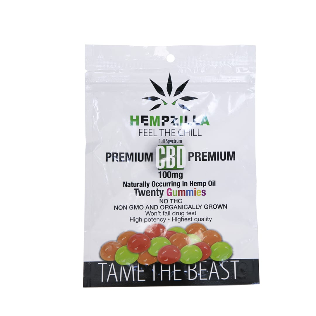 Hempzilla CBD Gummies 20 pack