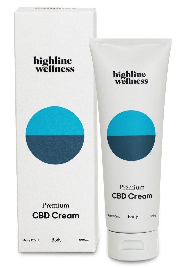 Highline Wellness CBD Body Cream