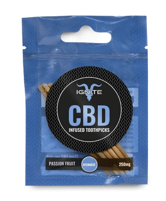 Ignite CBD Infused Toothpicks Passion Fruit Recharge