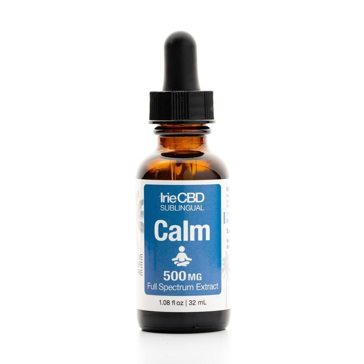 IrieCBD Calm CBD Oil Tincture
