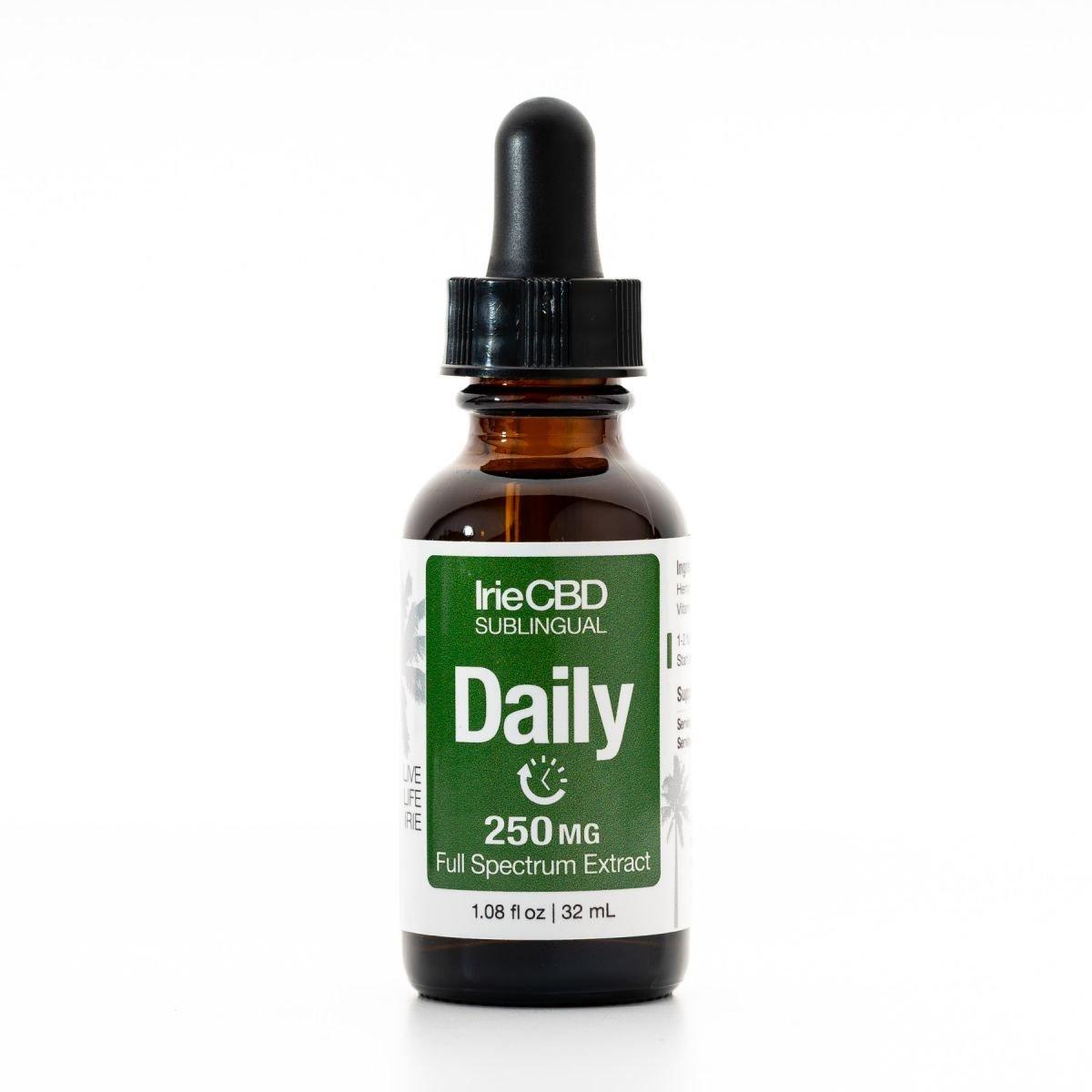 IrieCBD Daily CBD Oil Tincture