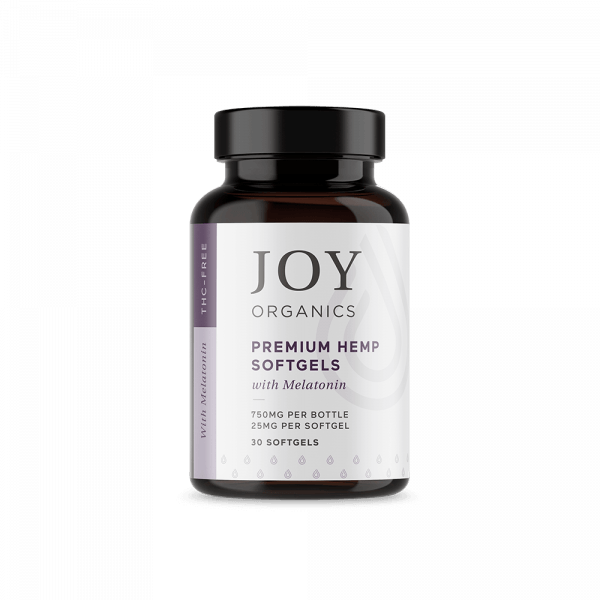 Joy Organics Softgels with Melatonin