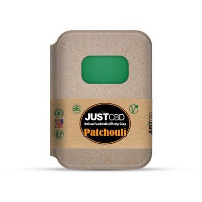 Just CBD Hemp Soap Patchouli