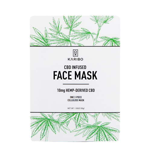 KARIBO Beauty CBD Infused Face Mask