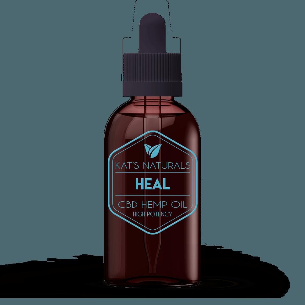 Kat's Naturals Heal Drops