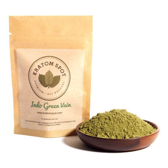 Kratom Spot Indo Green Vein Powder