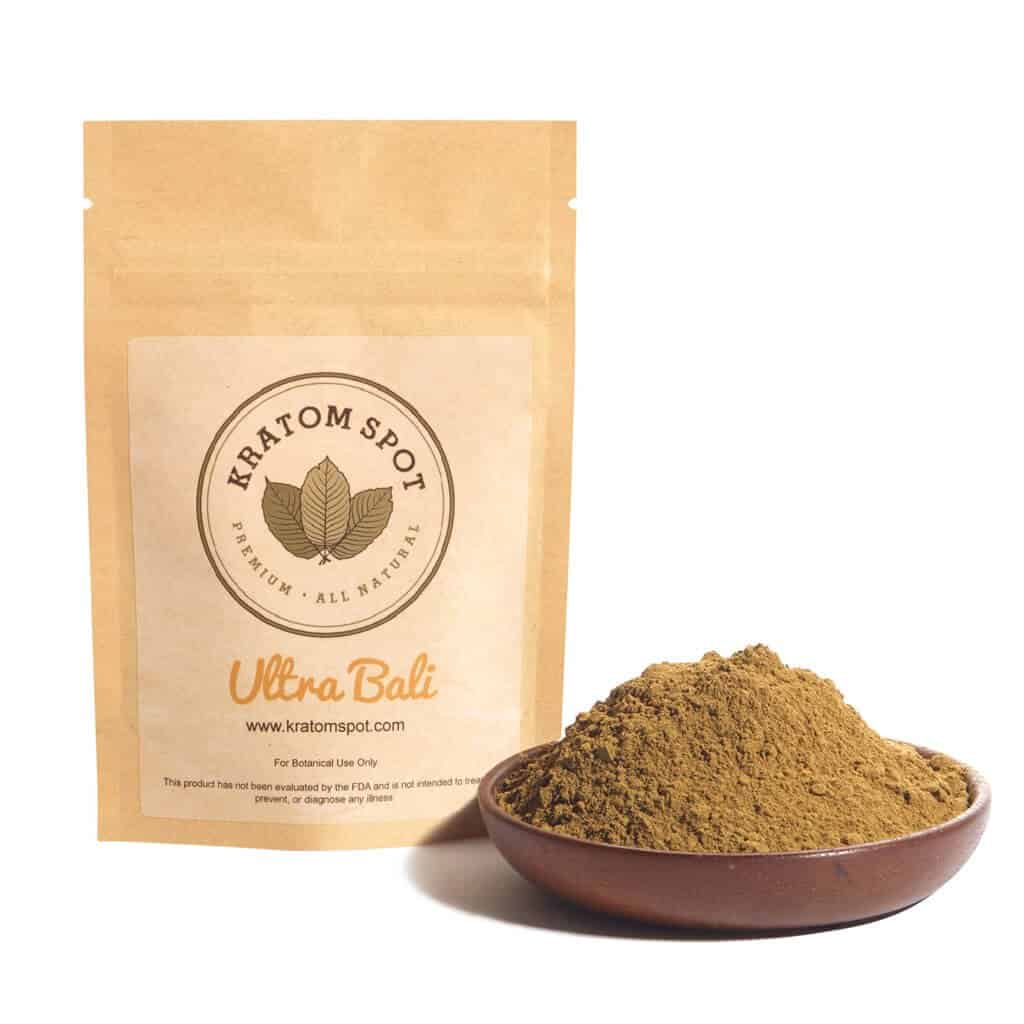 Kratom Spot Ultra Bali Kratom Extract Powder