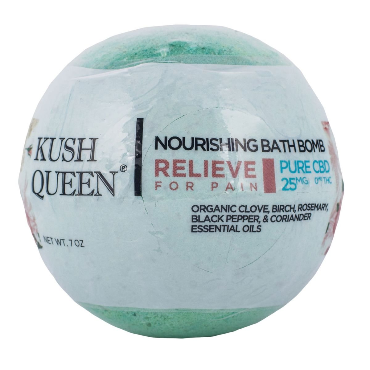 Kush Queen CBD Bath Bomb