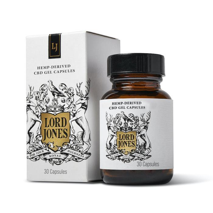 Lord Jones Hemp-Derived CBD Gel Capsules