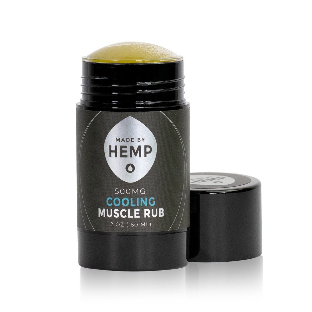Made By Hemp Cooling Muscle Rub