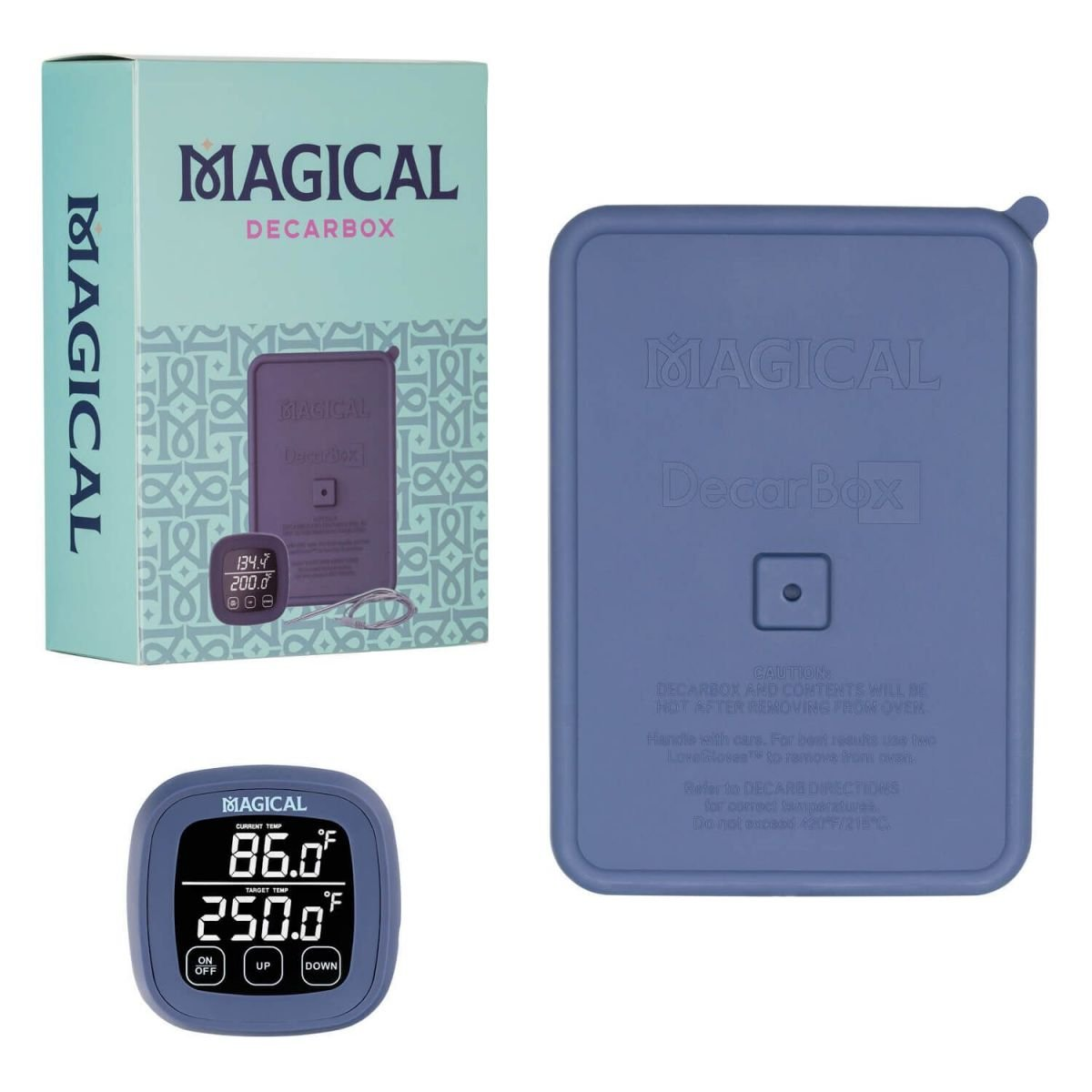 Magical Butter DecarBox Thermometer Combo Pack