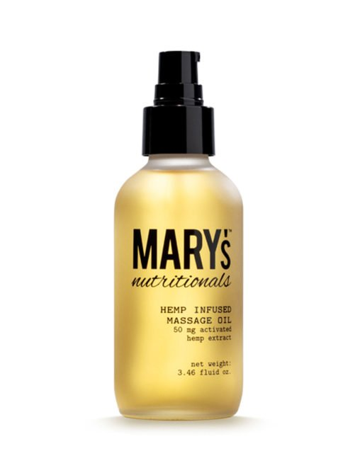 Mary's Nutritionals Massage Oil 4 oz