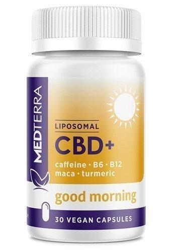 Medterra Liposomal CBD Good Morning Capsules