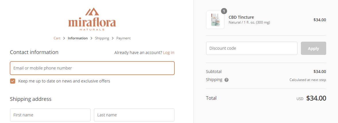 Miraflora Coupon Code