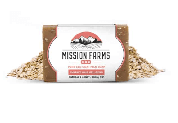 Mission Farms CBD Soap