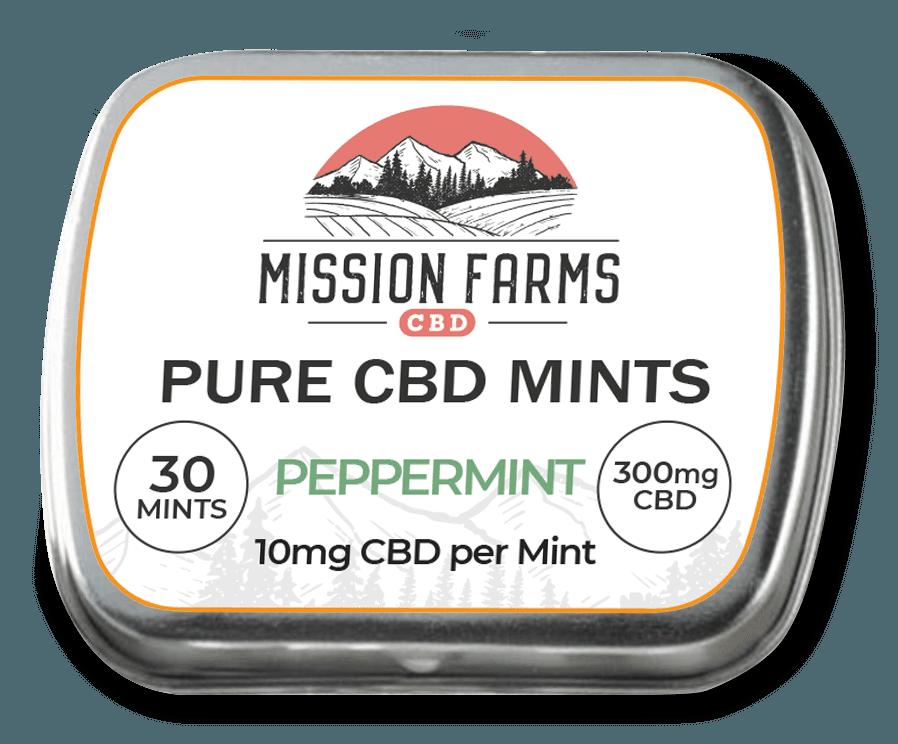 Mission Farms CBD Peppermint Mints