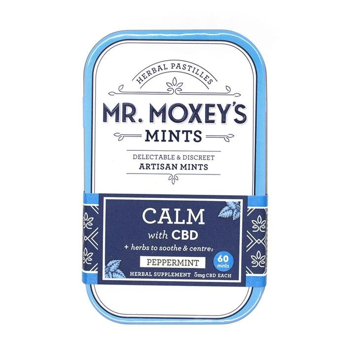 Mr. Moxey's Calm 300mg CBD Peppermint Mints