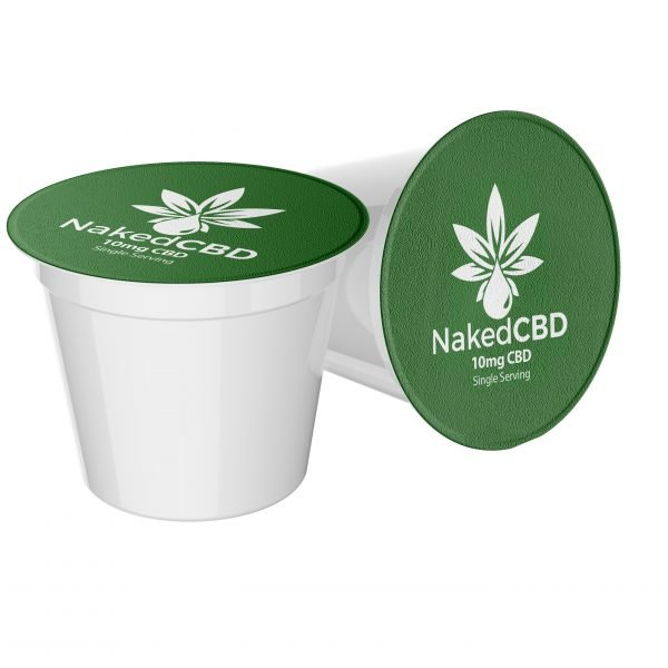 NakedCBD Coffee K-Cups 10mg