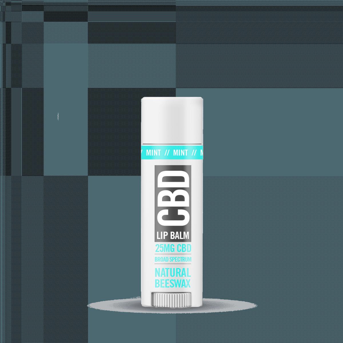 Nanocraft CBD Natural Beeswax Lip Balm