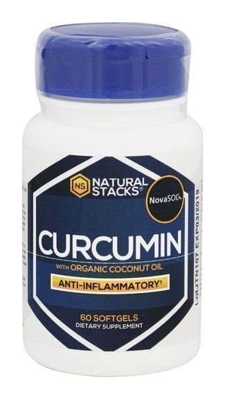 Natural Stacks Curcumin w/ Organic Coconut Oil