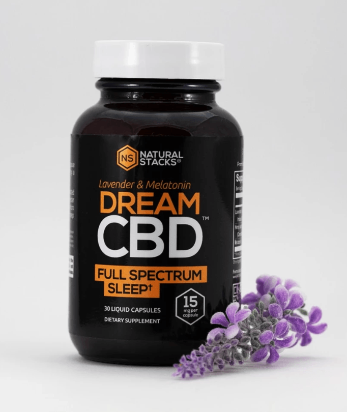 Natural Stacks Plus DREAM CBD Full Spectrum CBD Capsules