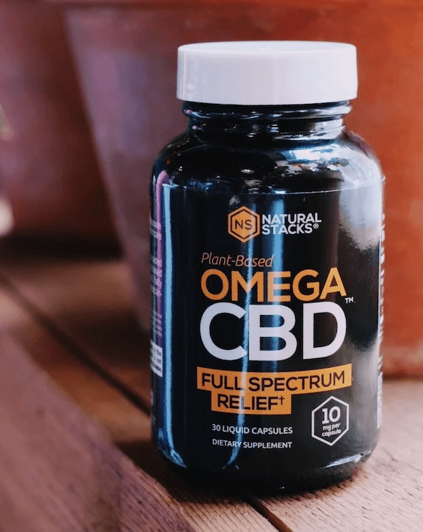 Natural Stacks Plus OMEGA CBD Full Spectrum CBD Capsules