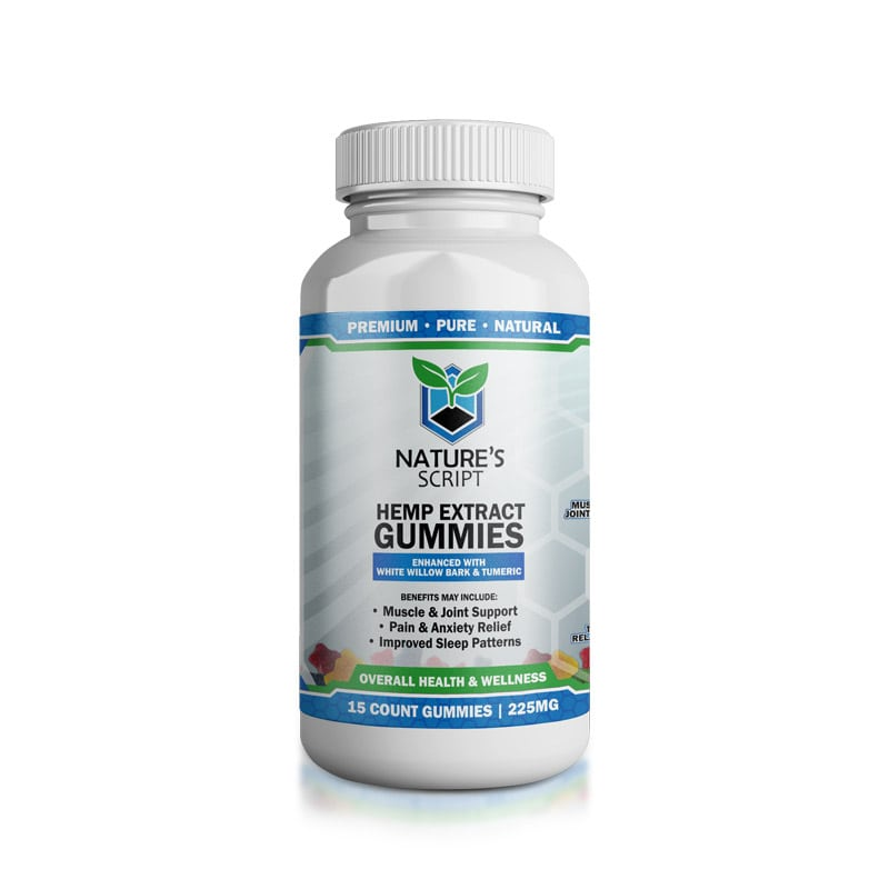 Natures Script Hemp Extract Gummies