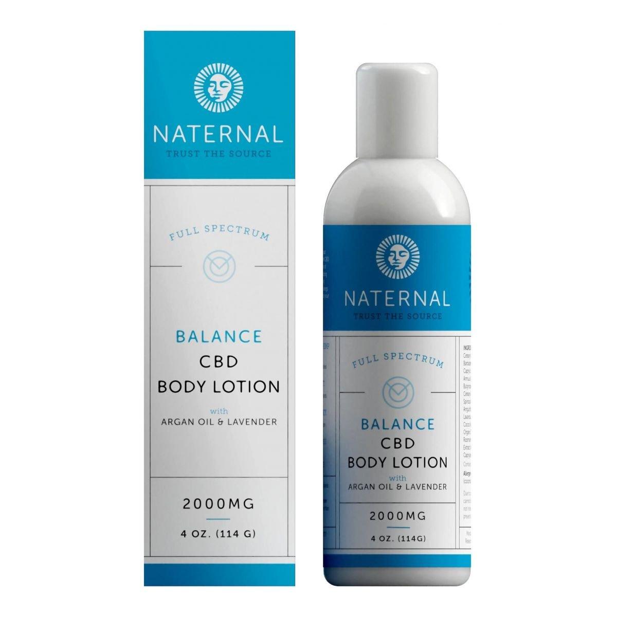 Naternal Balance CBD Body Lotion