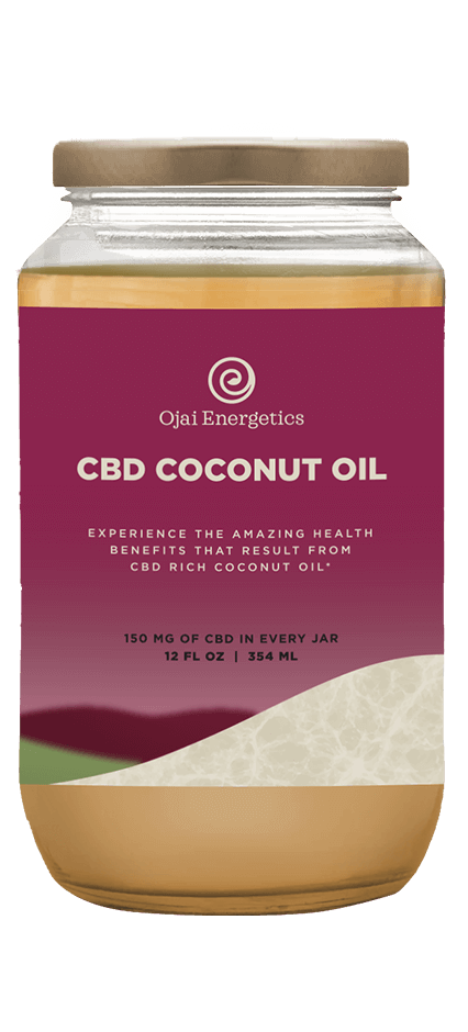 Ojai Energetics CBD Coconut Oil