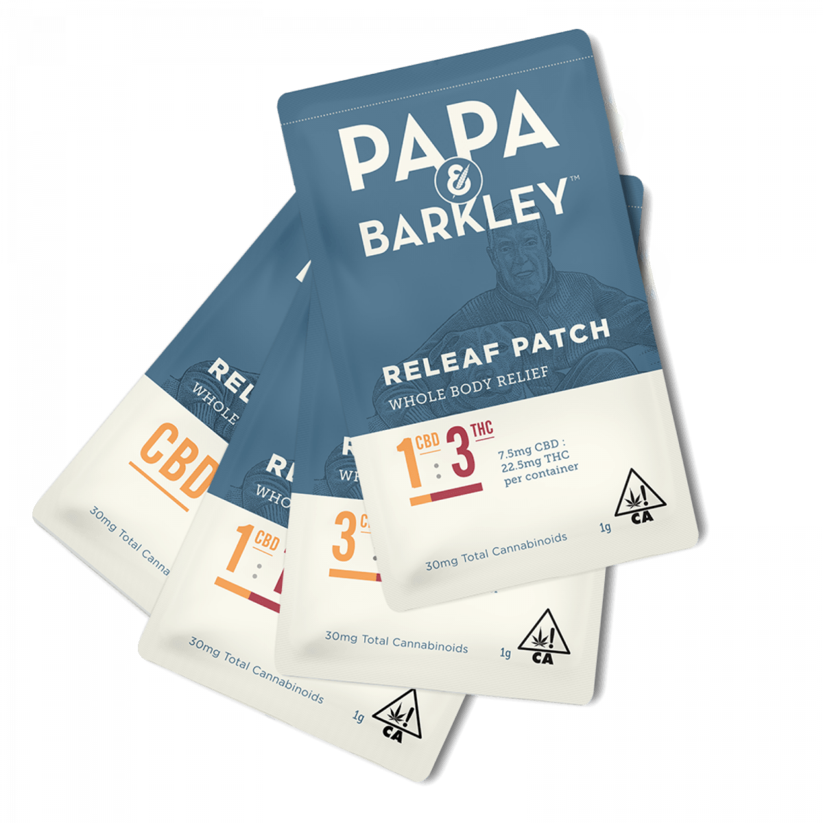 Papa & Barkley Releaf Patches