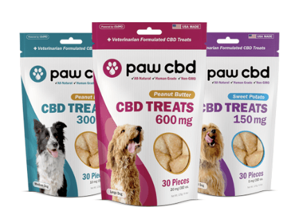 paw cbd treats