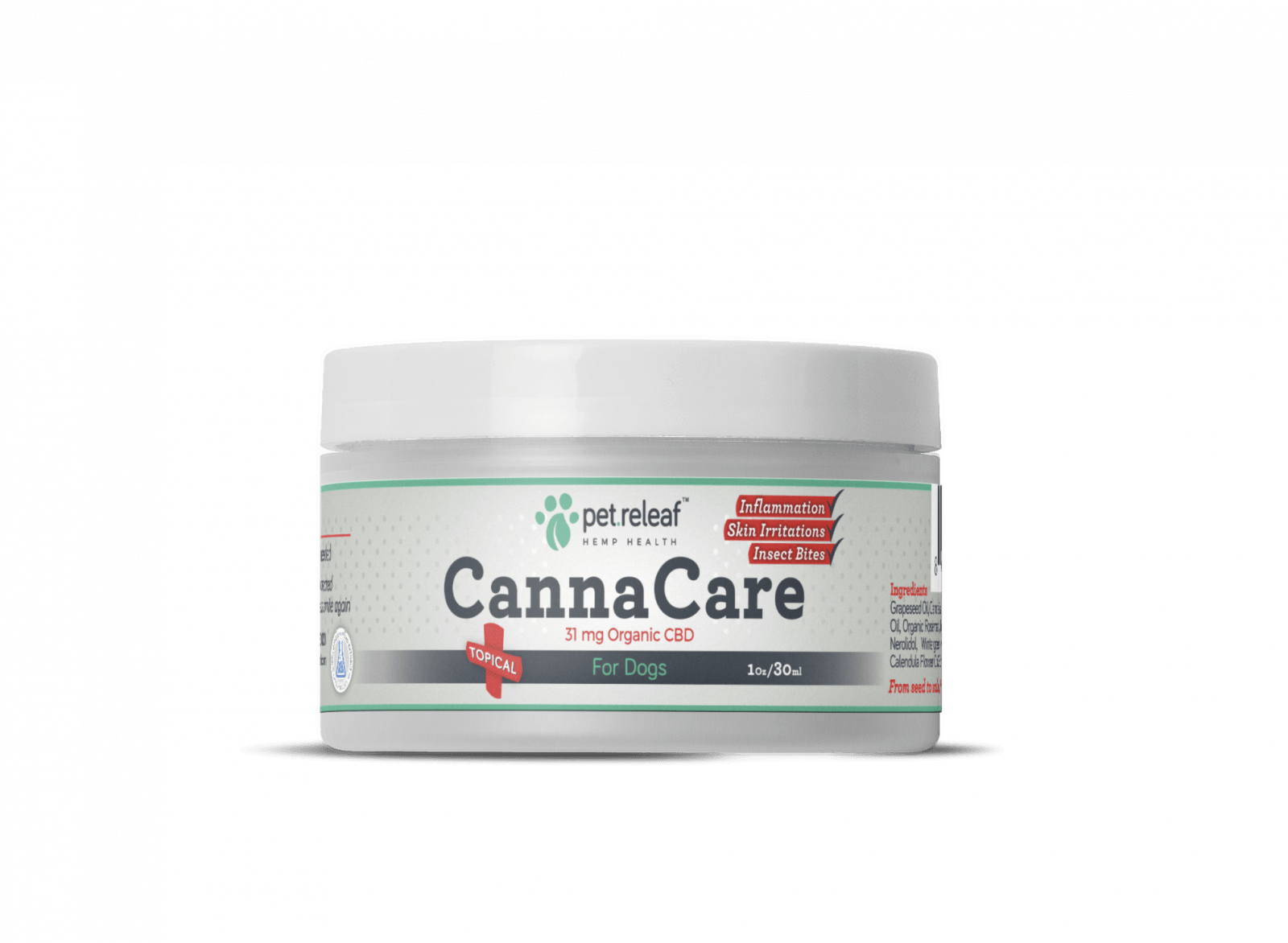 Pet Releaf Canna Care Topical treatment for dogs